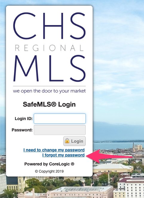 Forgotten Password – CTARMLS Member Support